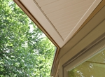 Lakeview Residence: Detail of Overhang